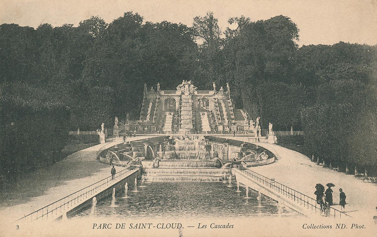 Parc De Saint Cloud Grille Ville D Avray